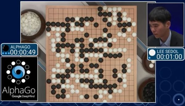 شکست قهرمان بازی Go توسط برنامه هوش مصنوعی AlphaGo متعلق به شرکت Google DeepMind